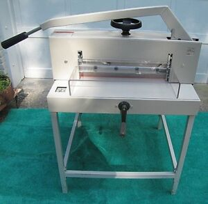 Triumph Ideal 4700 Commercial Guillotine Paper Cutter stand Extra Blade