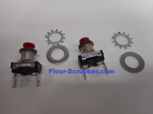 2 Nobles Ss5 Floor Scrubber 9008568 Push Button Switch Drive Trigger Switch