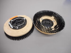 Set 2 Tennant Nobles 1025095 Ss5 12 Floor Scrubber Poly Brushes 030