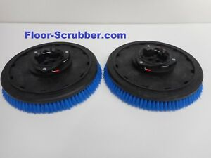 Set 2 Tennant 399244 T5 Nobles Ss5 16 Floor Scrubber Poly Brushes 030