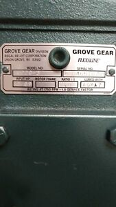 Grove Gear U220 3 Flexaline Worm Speed Reducer