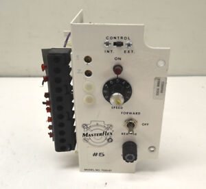 Masterflex 7553 07 Variable Speed Control Controller Module Forward reverse 0 10