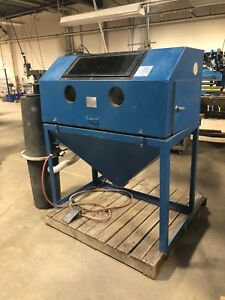 Cyclone 4826 Sandblaster With Dust Collector