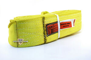 Ee2 904 X12ft Nylon Lifting Sling Strap 4 Inch 2 Ply 12 Foot Feet Usa Made