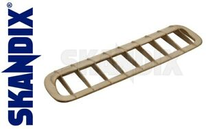 Brass Air Intake Grille All Volvo P1800