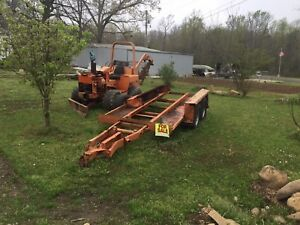 Ditch Witch Trailer Made By Belshe