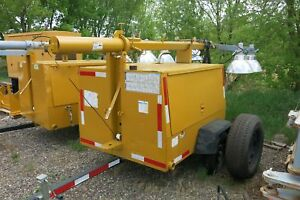 1 Used Ingersoll rand Model L6a 4 Mh 4 Light Tower T12922