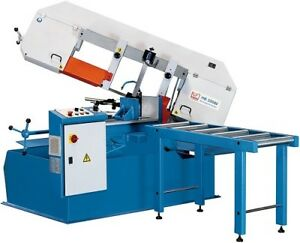 Brand New Knuth Horizontal Fully Automatic Band Saw Abs 380l 5 Year Parts