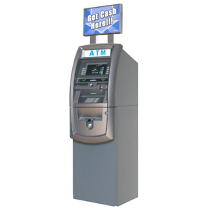 New Genmega G2500 Atm Machine No Phone Or Internet Lines Needed