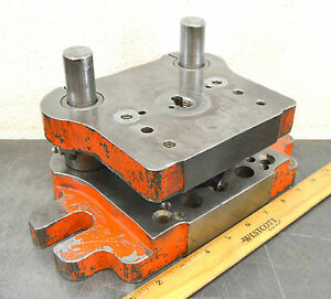 Punch Press Die Shoe Tooling Pneumatic Press Die Frame Air Bench Press 024