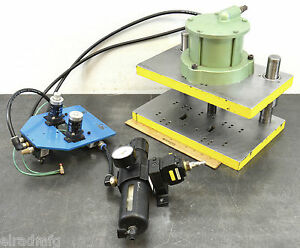Air Mite Davf500 Pneumatic Bench Press Control Button Adjustable 1 1 2 Stroke