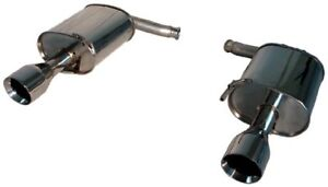 Tanabe T70130a Medalion Touring Axle Back Dual Muffler Exhaust System For G35