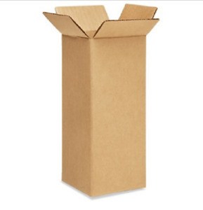 125 4x4x12 Cardboard Paper Boxes Mailing Packing Shipping Box Corrugated Carton