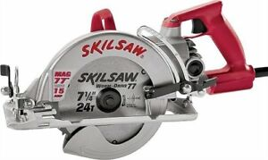 Skil Spt77wml 22 7 1 4 In Lightweight Magnesium Worm Drive Circular Saw With