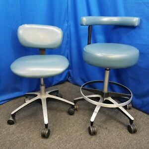 Dental ez Doctor And Assistant Stool