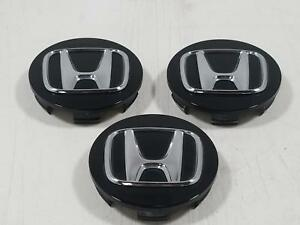 2013 Honda Civic Three Center Caps 44742 Oem