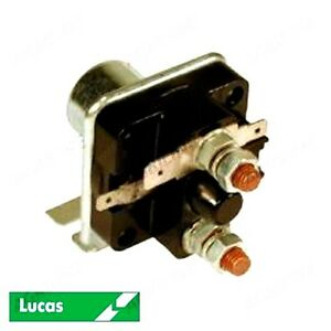 Starter Solenoid genuine Lucas Fits Fordson Dexta Major Power Major