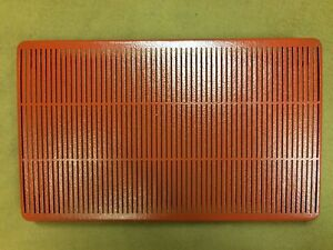 1955 1956 1957 Thunderbird Original Radio Speaker Grille W Attaching Hardware