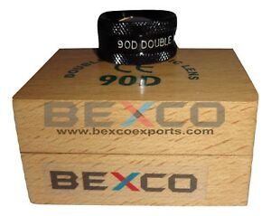 Top Quality 90d Double Aspheric Lens Ophthalmology In Wood Box Bexco Free Ship