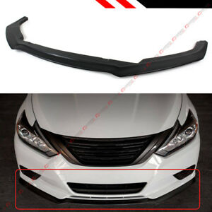 For 2016 2018 Nissan Altima 4dr Sedan S Style Vip Jdm Front Bumper Lip Splitter