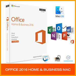 Office 2016 Home And Business For Mac Os Genuine License Product Key