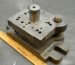 Danly Punch Press Die Shoe Tooling Pneumatic Press Die Frame Air Bench Press 005