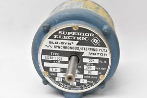 Superior Electric Ss250 1005 Slo syn Synchronous Stepping Motor