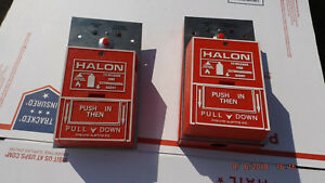 Fire lite Halon System Pull Station Bg10 only Ones On Ebay Like This
