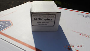 new Simplex Manual Pull Station 2099 9138 630 665