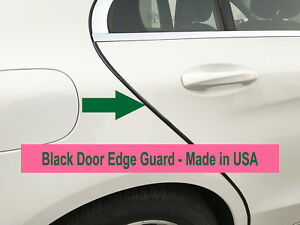 4pcs Black Door Edge Scratch Protector Guard Trim Molding For Chevy 2004 2018