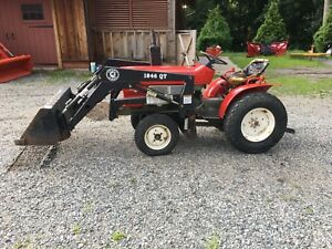 Ym 1301 16hp 4 Wheel Drive Diesel Tractor With Front End Loader