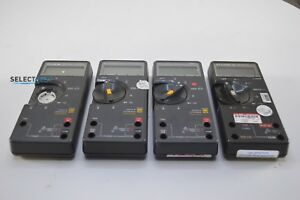 Fluke Multimeters Lot Of 4 Units Fluke 73 ii Fluke 75 And 2 Fluke 75 ii