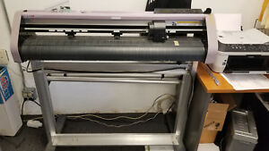 Mimaki Cg 75ml Vinyl Cutter Used 30 Cutter