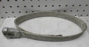 Nos Universal 26 Flat Braided Tinned Copper Ground Shunt Strap Battery Lead