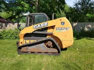 2014 Case Tr320 Track Loader Skid Steer With Cab Ac Heat 1540 Hours