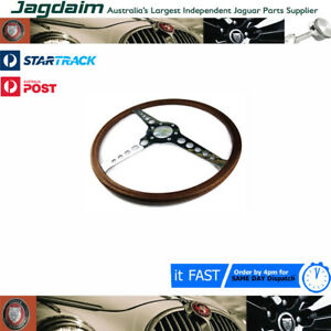 New Jaguar Xke E Type S1 3 8 4 2 Steering Wheel 16 C28590
