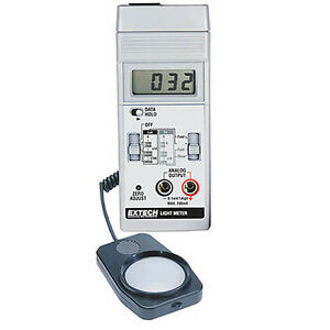 Extech 401025 Light Meter Foot Candle lux Meter