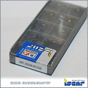 Adkt 150516r Hm Ic928 Iscar 10 Inserts Factory Pack