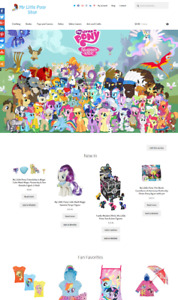 My Little Pony Website Business For Sale Fully Stocked