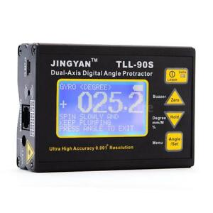 50 60hz Lcdprecision Angle Meter Dual axis Digital Laser Level Inclinometer G0j5