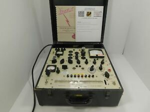 Hickok 539a Vintage Tube Tester W Manuals Restored And Calibrated Nov 2015