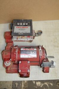 Tuthill Fill rite 35 Gpm Heavy Duty Fuel Transfer Pump With Meter 115 230v Ac