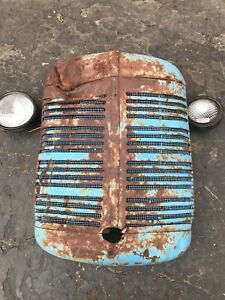 Rare Industrial steampunk Farmall Case Sign Vintage Tractor Grill Lights R Extra