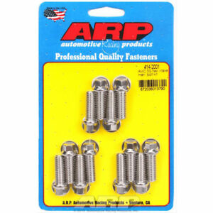 Arp 414 2001 Intake Manifold Bolts Stainless Steel Amc 290 343 390 Hex Head