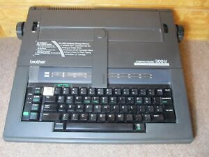 Brother Compactronic 300m Electric Electronic Typewriter With 5 Extra Ribbons