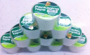12 Pack Clear Duck Packing Tape 1 88x50yd Shipping Tape 600 Yds New Boxes Supply