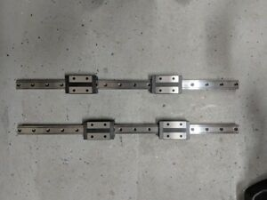 2 Thk Snr25 Linear Motion Guide Rails Linear Bearings 24 3 16