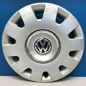 One 01 04 Volkswagen Passat 61542 15 Hubcap Wheel Cover Vw 3b0 601 147 Mfx
