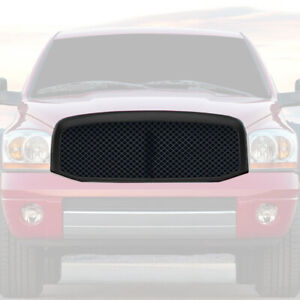 2007 2009 Dodge Ram 2500 3500 Front Mesh Type Grille Abs Replacement Grill Black