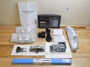 Newall Digital Readout Package W 2 axis Dro Display And 10 Microsyn Encoder